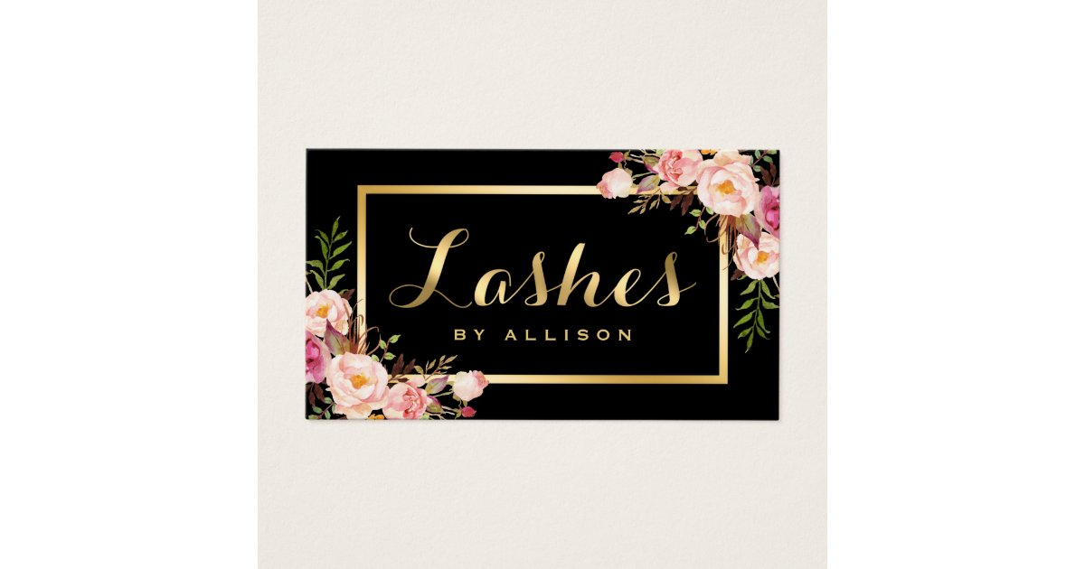 Floral Business Cards - Business Card Printing | Zazzle CA