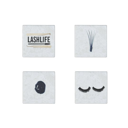 LASHLIFE Marble Magnets Stone Magnets