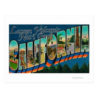 Lassen Volcanic Nat'l Park, CA Postcard