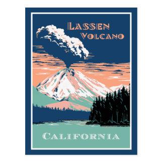 Lassen Volcano California Postcard