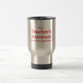 L'assistant du professeur mug de voyage