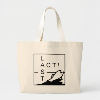LAST ACT! LARGE TOTE BAG