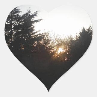 Last bit of energy heart sticker