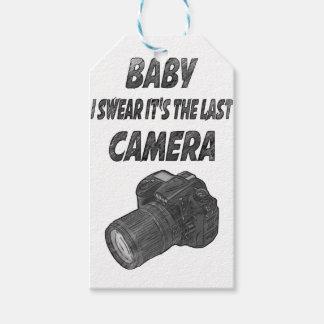 Last camera gift tags