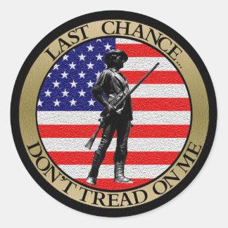 Last Chance... Classic Round Sticker
