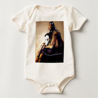 Last Comanche Chief Baby Bodysuit