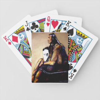 Last Comanche Chief Bicycle Playing Cards