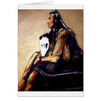 Last Comanche Chief Card