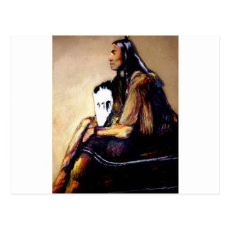 Last Comanche Chief Postcard