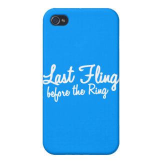 Last Fling Before the Ring in white iPhone 4/4S Case