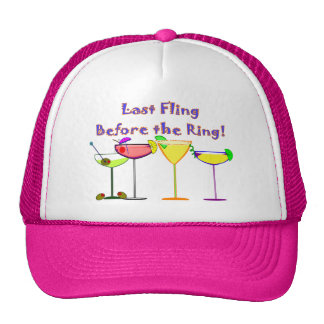 Last Fling Before The Ring Trucker Hat