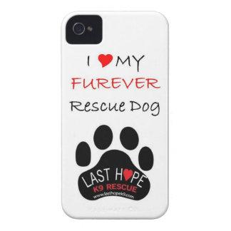 Last Hope K9 Rescue iPhone 4 FURever Dog iPhone 4 Case-Mate Cases