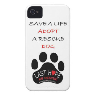 Last Hope K9 Rescue iPhone 4 Save A Life Adopt iPhone 4 Cover