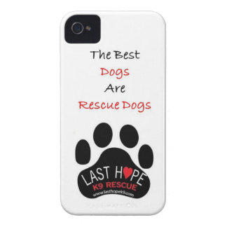 Last Hope K9 Rescue iPhone 4 The Best Dogs iPhone 4 Case-Mate Cases