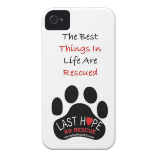 Last Hope K9 Rescue iPhone 4 The Best Things iPhone 4 Cover
