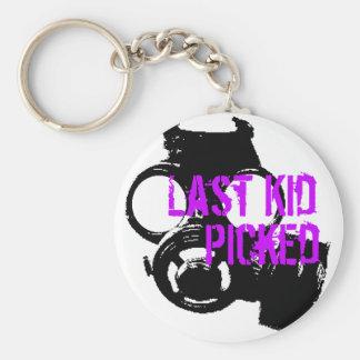 Last Kid Picked Gas Mask Keychain