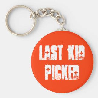 Last Kid Picked Keychain