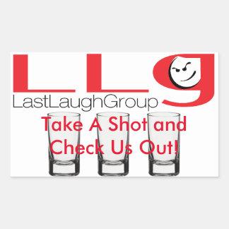 Last Laugh Group Promo Sticker