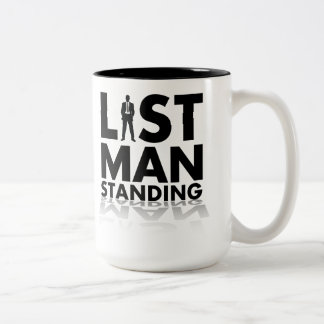LAST MAN STANDING Two-Tone COFFEE MUG