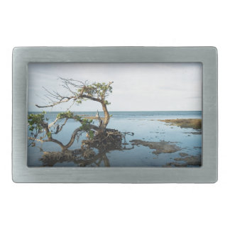 Last Mangrove Standing Rectangular Belt Buckle