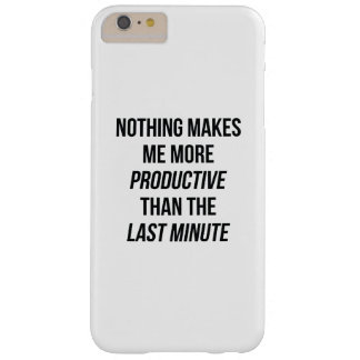 Last Minute Barely There iPhone 6 Plus Case
