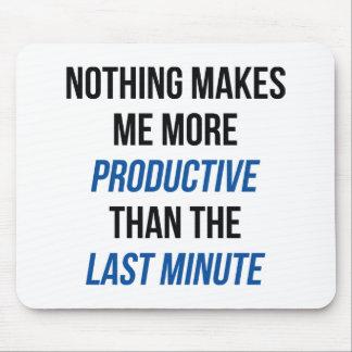 Last Minute Mouse Pad