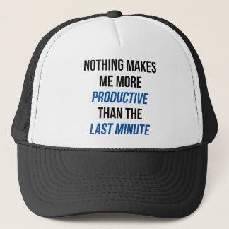 Last Minute Trucker Hat