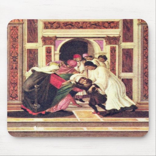 Last Miracle and the Death of St. Zenobius Mousepads