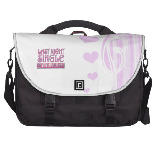 last night single bachelorette wedding party funny commuter bags