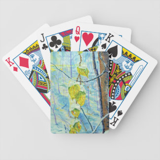 Last of the Leaves Bicycle Playing Cards