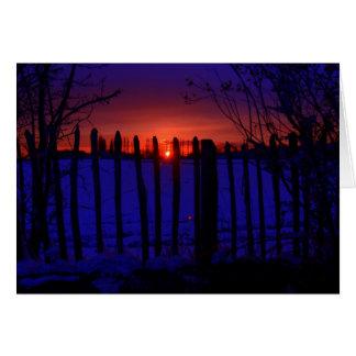 LAST OF THE WINTER SUN CARD
