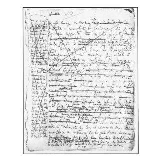 Last page of 'A la Recherche du Temps Perdu'
