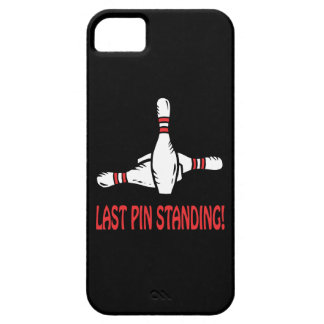 Last Pin Standing iPhone 5 Covers