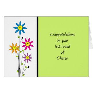 Last Round of Chemo-Congratulations Card