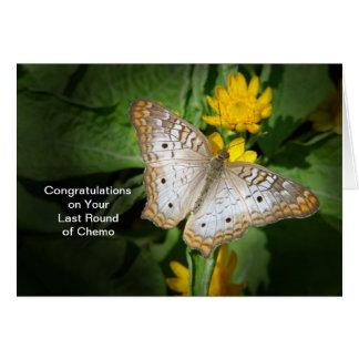 Last Roung of Chemo Congratulations Card