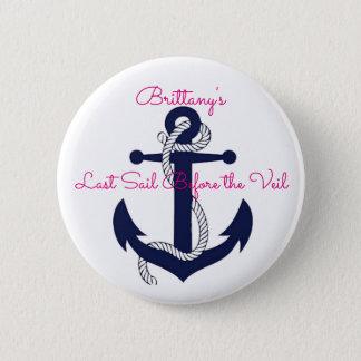 Last Sail Before the Veil Custom Bride Pin