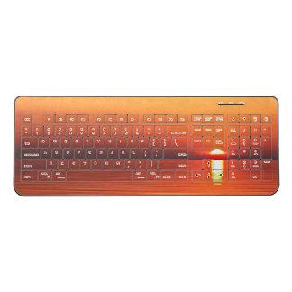 last Summer Sunset Wireless Keyboard