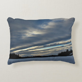 Last Sunset Sky 2015 Decorative Pillow