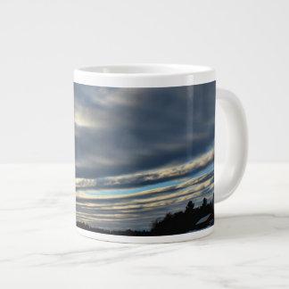 Last Sunset Sky 2015 Large Coffee Mug