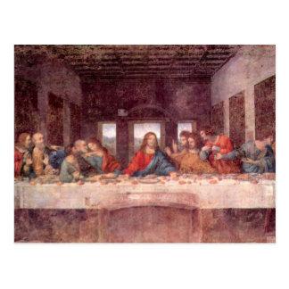 Last Supper by Leonardo da Vinci, Renaissance Art Postcard