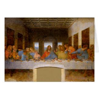 Last Supper Da Vinci Card