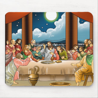 Last  Supper Mouse Pad