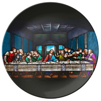 Last Supper Porcelain Plate