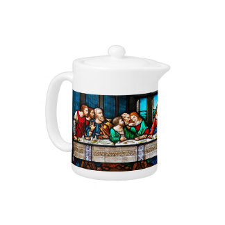 Last Supper Teapot