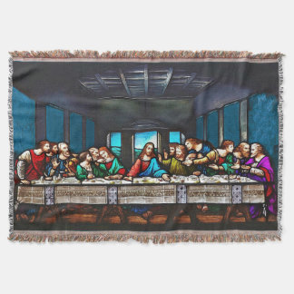 Last Supper Throw Blanket
