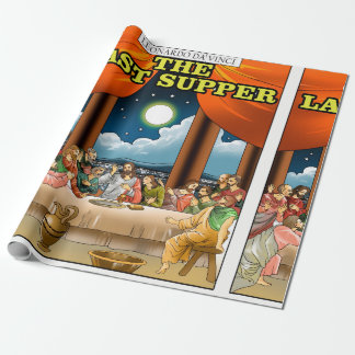 Last  Supper Wrapping Paper