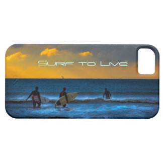 Last Surf Of The Day iPhone 5 Cover