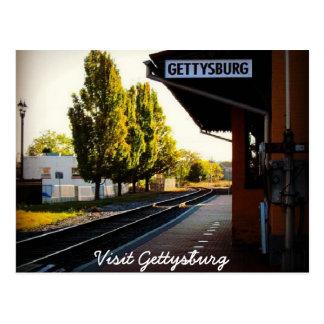 Last Train to Gettysburg Postcard