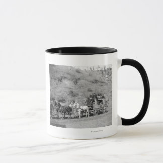 "Last Trip of the ""Deadwood Coach"" Photograph Mug"