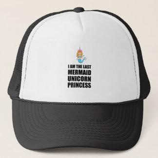 Last Unicorn Mermaid Princess Trucker Hat